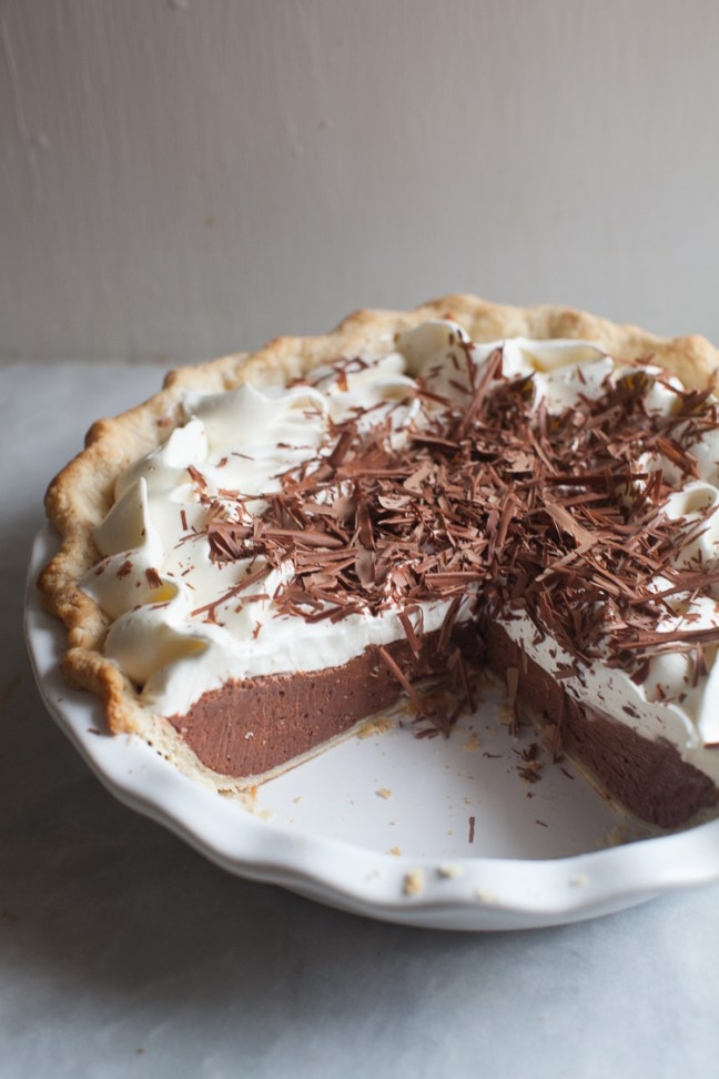 French Silk Pie | ZoeBakes Photo by Zoë François