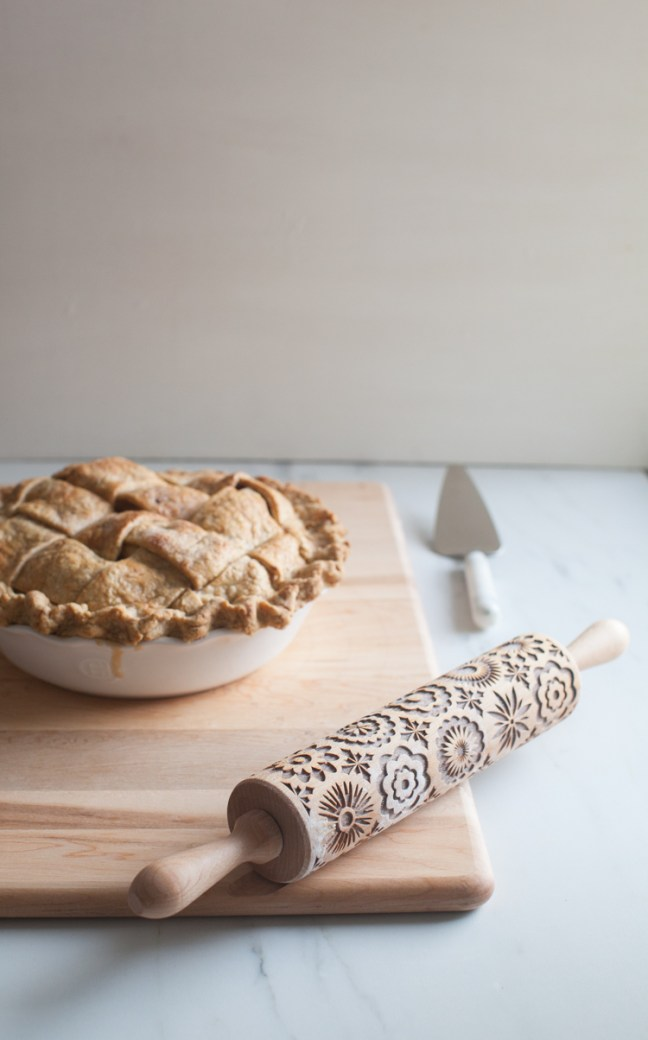 Lacy Apple Pie with Whole Wheat Lattice Crust \ ZoeBakes photo by Zoë Francois