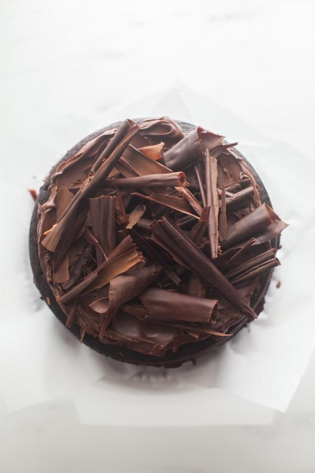 Chocolate Beet Cake with Ganache | ZoeBakes photo by Zoë François