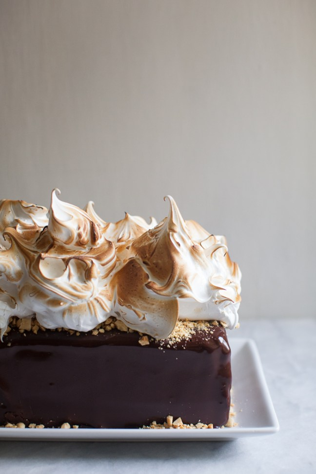 S'more Ice Box Cake