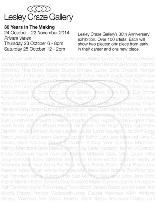 Lesley Craze Gallery - 30 years in the making - Zoe Robertson