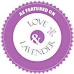 featured on love & lavender blog