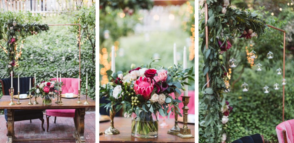 beautifully curated wedding details