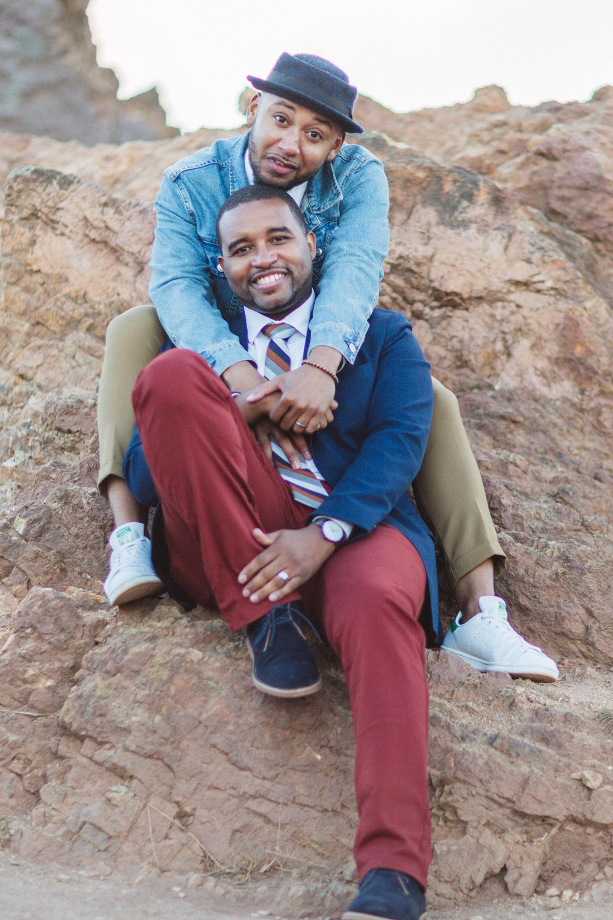 Same Sex Engagement Photos SF Zoe Larkin Photography
