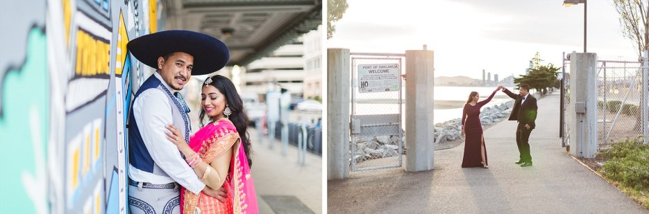how to choose location for engagement photos in downtown oakland