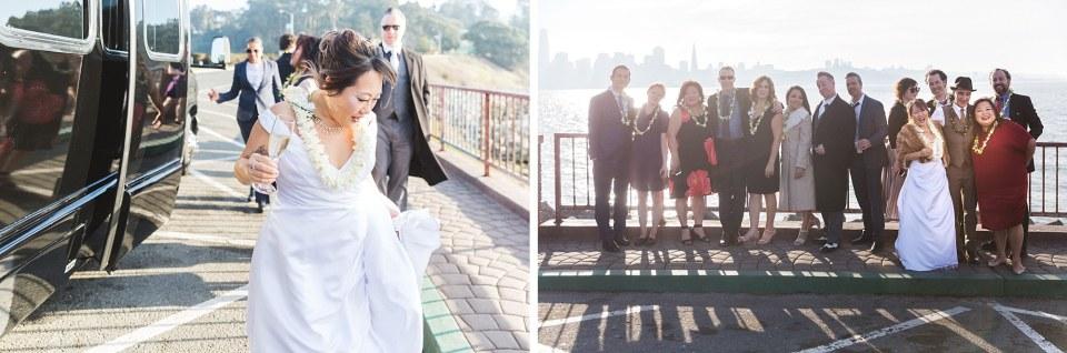 treasure island group wedding photography