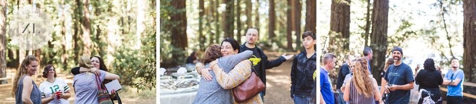 candid wedding photos of redwood park oakland