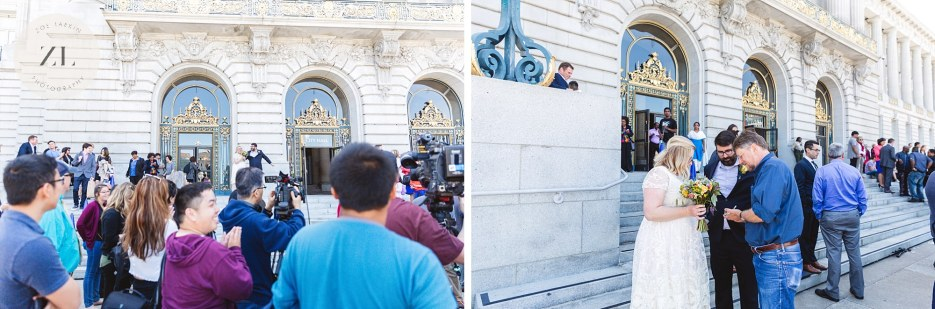 couple cheered at city hall steps after london breed is announced mayor