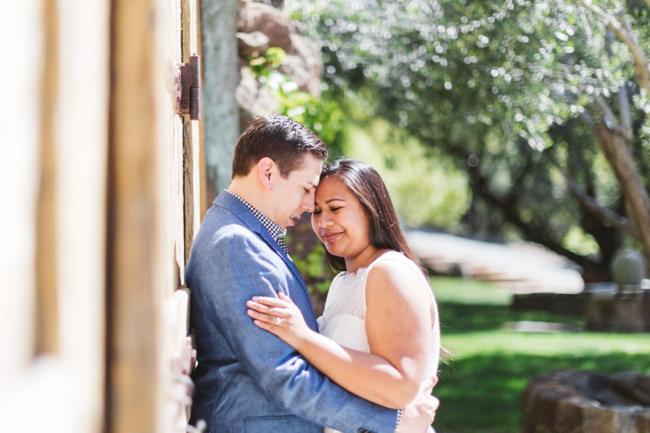 napa winery engagement photography