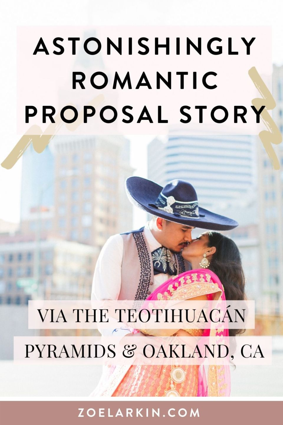 Proposal inspiration right here! This romantic story will warm your heart. This couple met at work and since then have been raising a family. Find out what happened when Jorge took Falisha to the pyramids in Mexico and how he popped the question. What he asked friends and family to do before he proposed was the most touching thing I've ever heard. Click to see this romantic proposal story as told to Zoe Larkin Photography and previously featured on Catalyst Wed Co! #proposalstory #gettingmarried #engaged #bayareaweddingphotographer #weddinginspo #wedspo| Zoe Larkin Photography