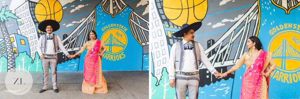 downtown oakland engagement shoot photography
