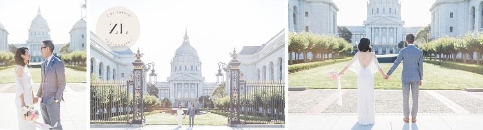 elegant couple san francisco city hall photography