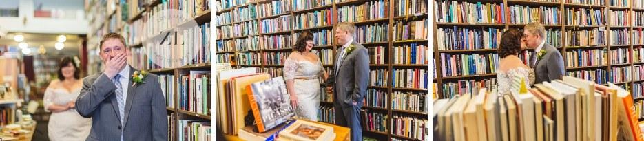 couple at oakland wedding
