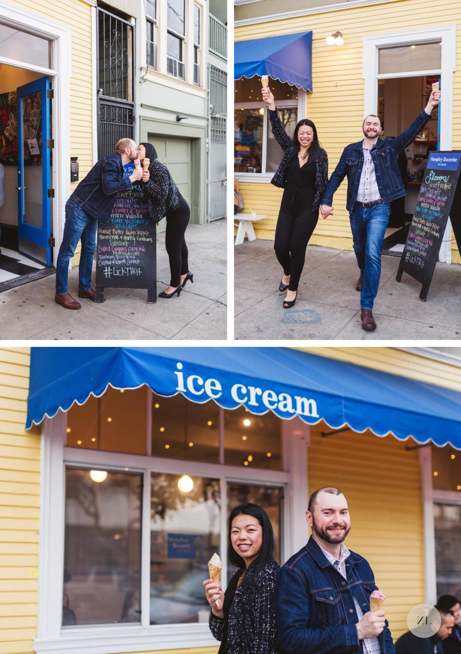 humphry slocombe harrison street engagement photos