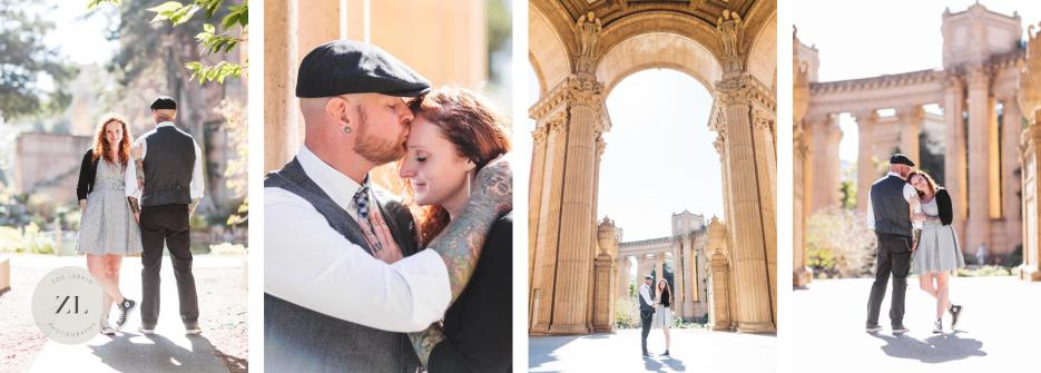 palace of fine arts elopement photography