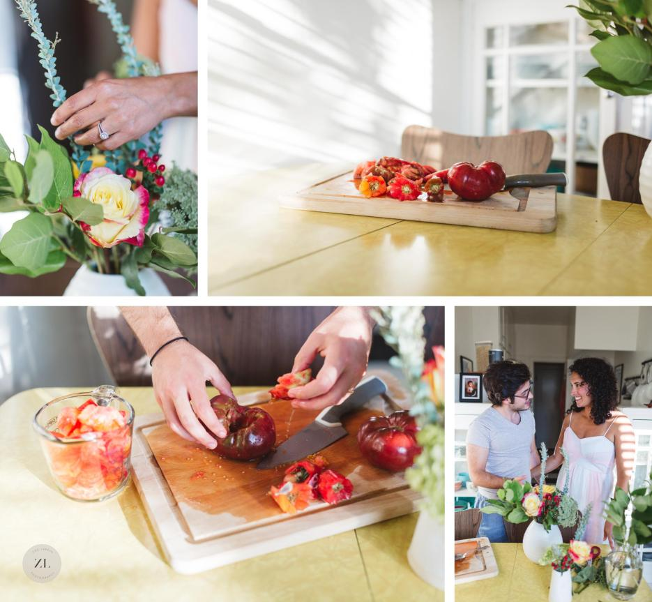 details of home life during lifestyle session engagement photography oakland