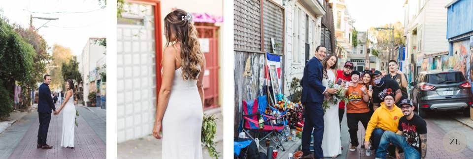balmy alley wedding photos by Zoe Larkin Photography