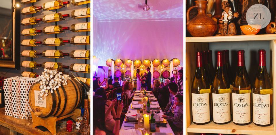 Eristavi Winery Wedding Zoe Larkin Photography