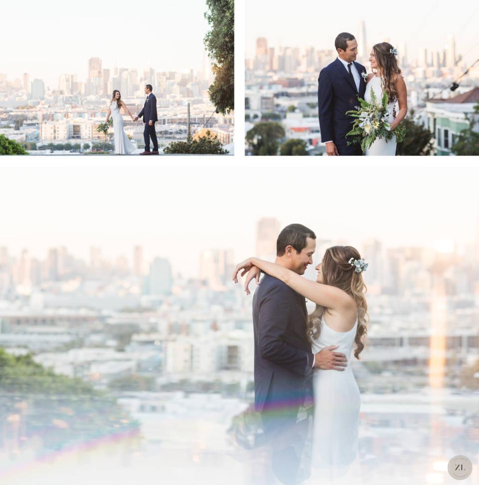potrero hill wedding portraits before Eristavi Winery Wedding Zoe Larkin Photography