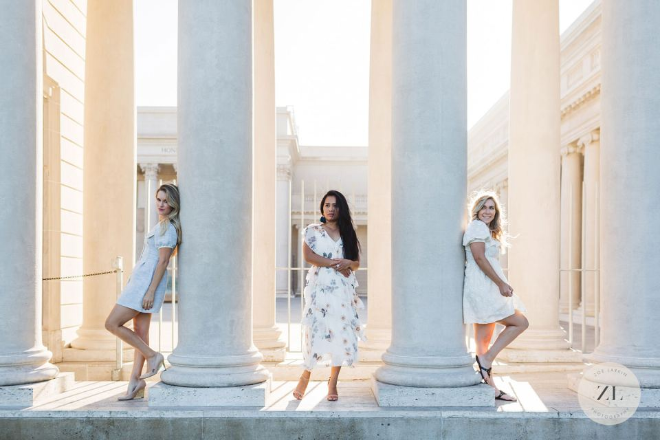 what the legion of honor, san francisco, looks like for engagement and wedding photos