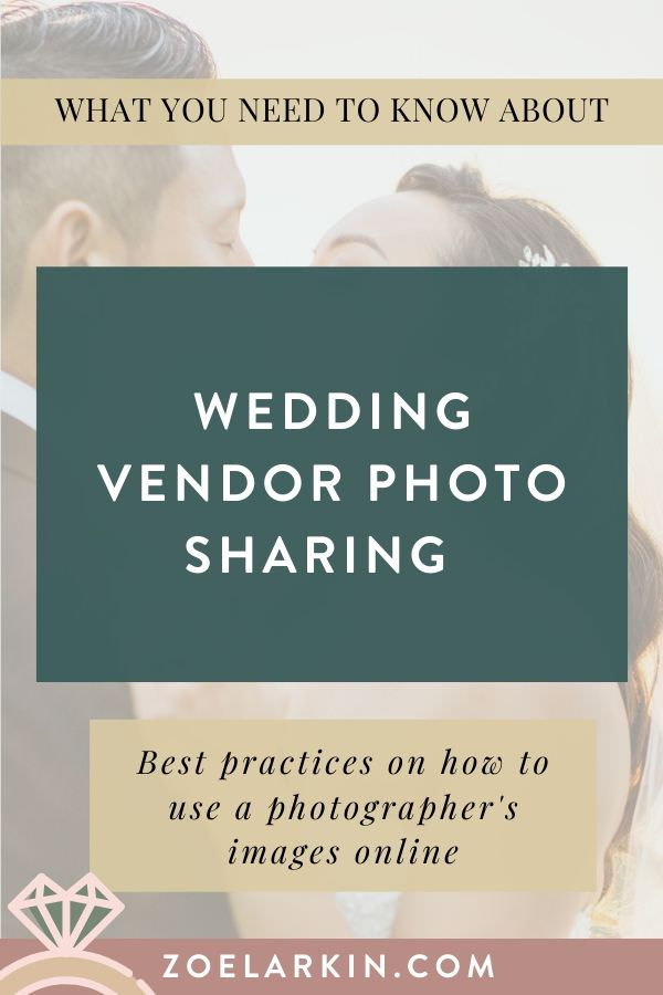 Wedding vendor photo sharing! 📷 Want to make your fellow wedding vendor, the photographer, really happy? Read my guide on the BEST practices to follow and create a mutually beneficial relationship where wedding photographers are STOKED to work with you, and ALWAYS send you our clients' wedding galleries! 💐🎛️📋💒🍽️🍲💃🏿 Whatever your wedding expertise, you will benefit from professional photos. So don't get on your wedding photographer's bad side! | #weddingvendors | Zoe Larkin Photography