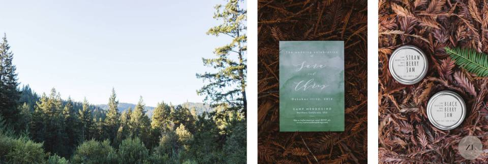 Camp Mendocino Wedding details