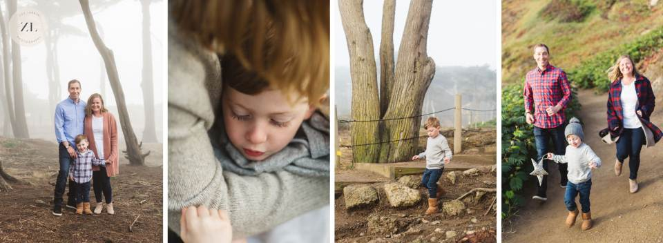 bay area family photography at lands end, san francisco