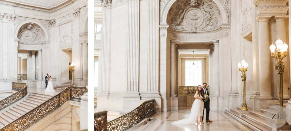 photographer's guide to planning wedding day at san francisco city hall