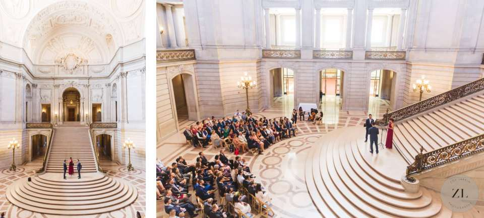 how to rent San Francisco City Hall wedding on a Saturday - full buyout two hour package