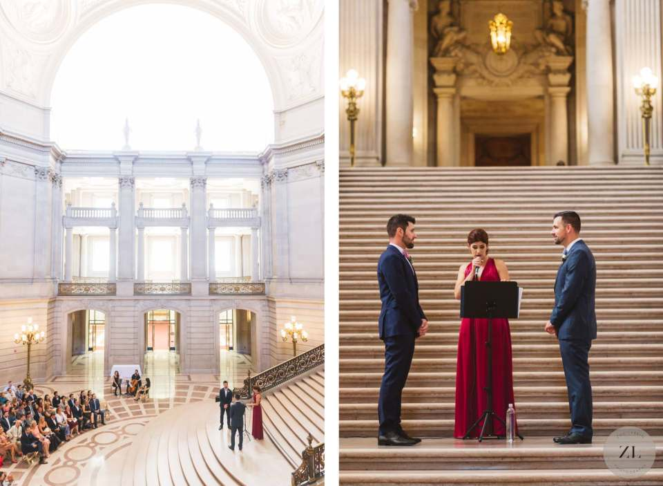 rent San Francisco City Hall wedding on Saturday full buyout