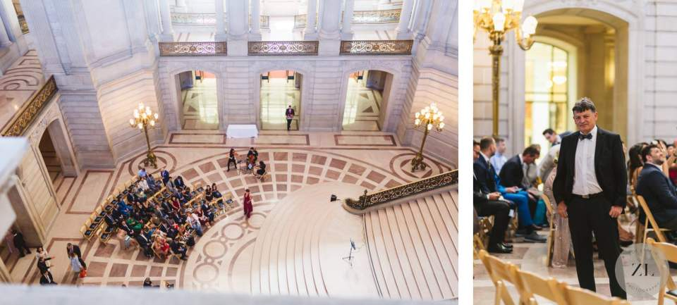 how to get married at San Francisco City Hall on a saturday - two hour ceremony