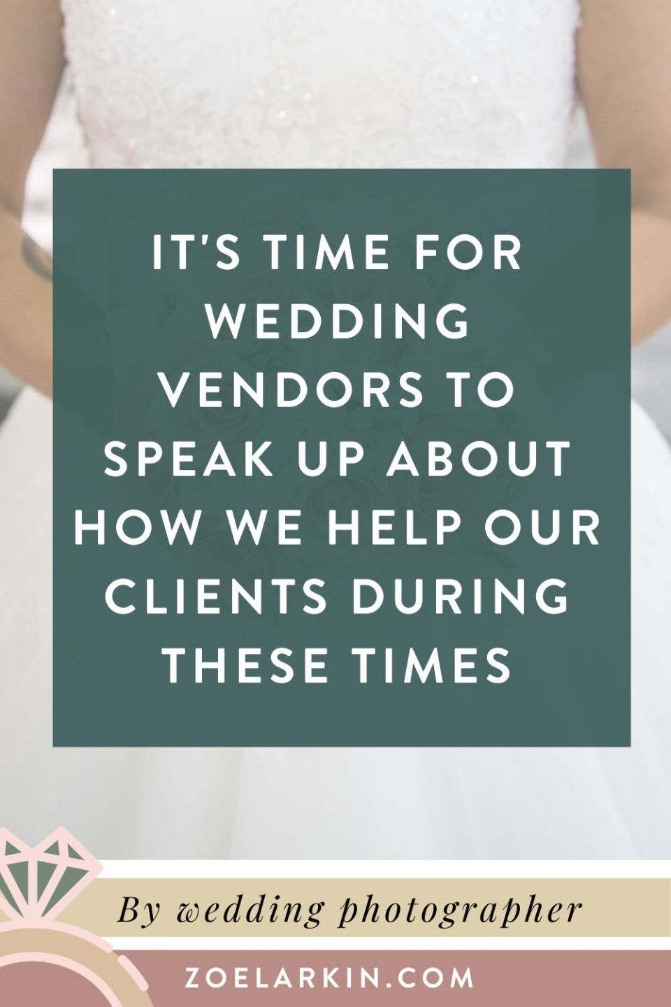 It's time for wedding vendors to speak up about how we support clients through these difficult times. I didn't want to speak out about COVID-19 wedding reschedules, but it's important to be honest, clear and transparent about our new policies. We must protect our businesses AND support our clients. I outline the policies that help my business as I deal with clients' postponing, downsizing and even canceling their weddings (yikes!) #weddings #weddingvendors | Zoe Larkin Photography