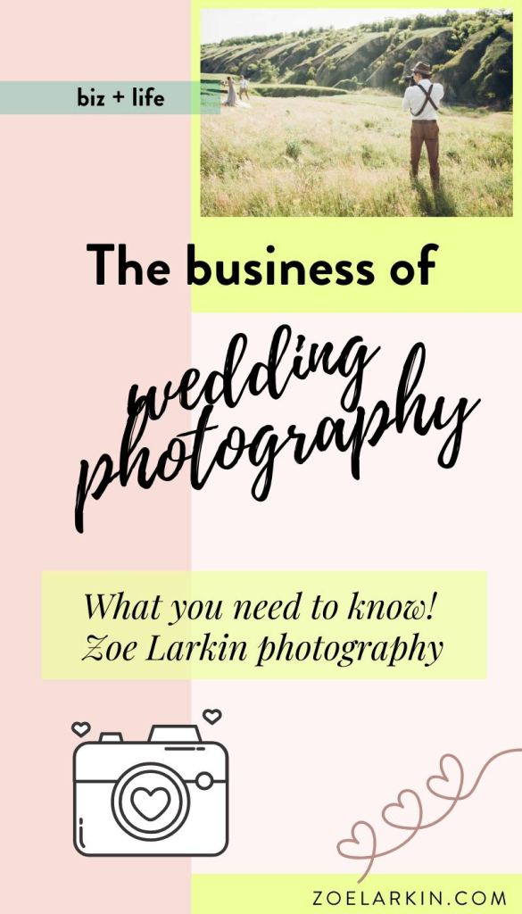 What's it really like being a successful wedding photographer once the wedding is done? In this article I dive into exactly what I do as a wedding photographer focusing on the business side of things that my clients don't see. I take you through the daily, weekly and monthly tasks I attend to in order to run a successful wedding photography business. Learn the truth about wedding photography before you dive in! #weddingphotography #wedding #photographer | Zoe Larkin Photography