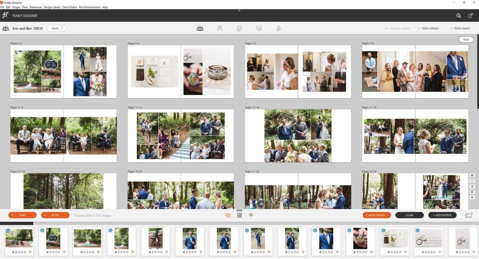 Fundy Designer for wedding photographers - screenshot