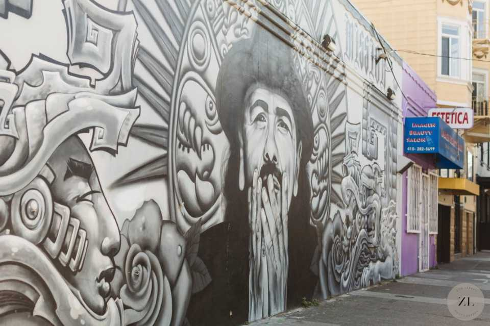 best spots in san francisco's mission district for photo backdrops (perfect for weddings or engagement photos)