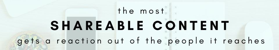the most shareable content gets a reaction out of the people it reaches. - graphic by beastlocal.com