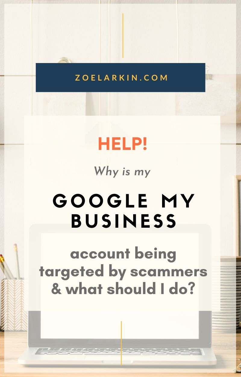 Heads up! If you're a small business owner you may be targeted my scammers for this latest scam. Twice in a few hours in September 2020, my Google My Business (GMB) account was targeted by an 'ownership request'. The scammer attempts to gain access to your GMB account by requesting ownership rights. In this informative guide, I dive into the anatomy of a scam + suggest the best course of action to protect your GMB profile from scammers. #googlemybusiness #gmb #scamalert | Zoe Larkin Photo