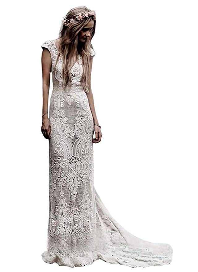 Liposa wedding dress - the best Boho wedding dresses on amazon