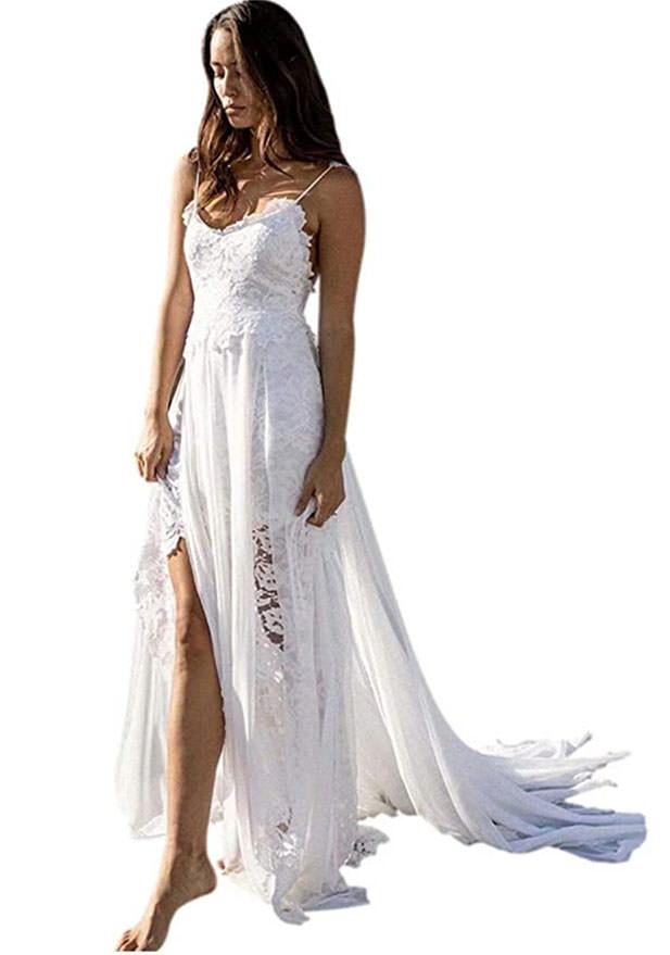 beah boho wedding dress - Affordable wedding dresses  from amazon