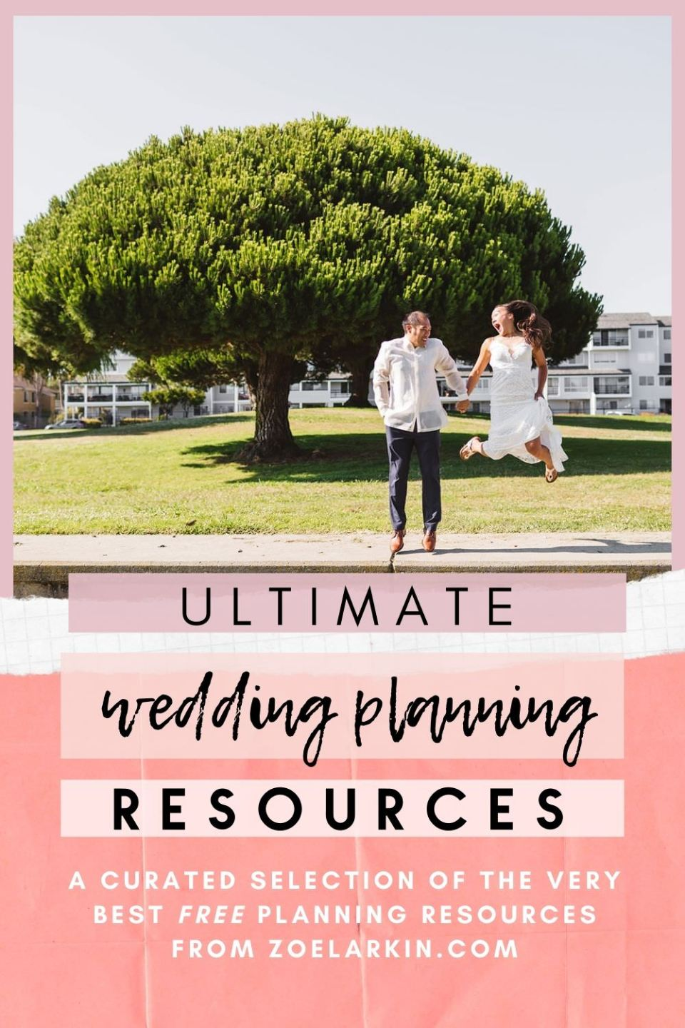 The complete guide to planning your wedding - ALL my most helpful blog posts by wedding expert Zoe Larkin. My curated selection of wedding resources is THE guide for you. Everything from wedding budgeting, understanding vendor pricing, maximizing your wedding day experience + many tips for getting the best wedding photos! No matter who you choose as your wedding photographer, my wedding planning resources will be VERY helpful #weddingtips #weddingplanning #weddingphotography | zoelarkin.com