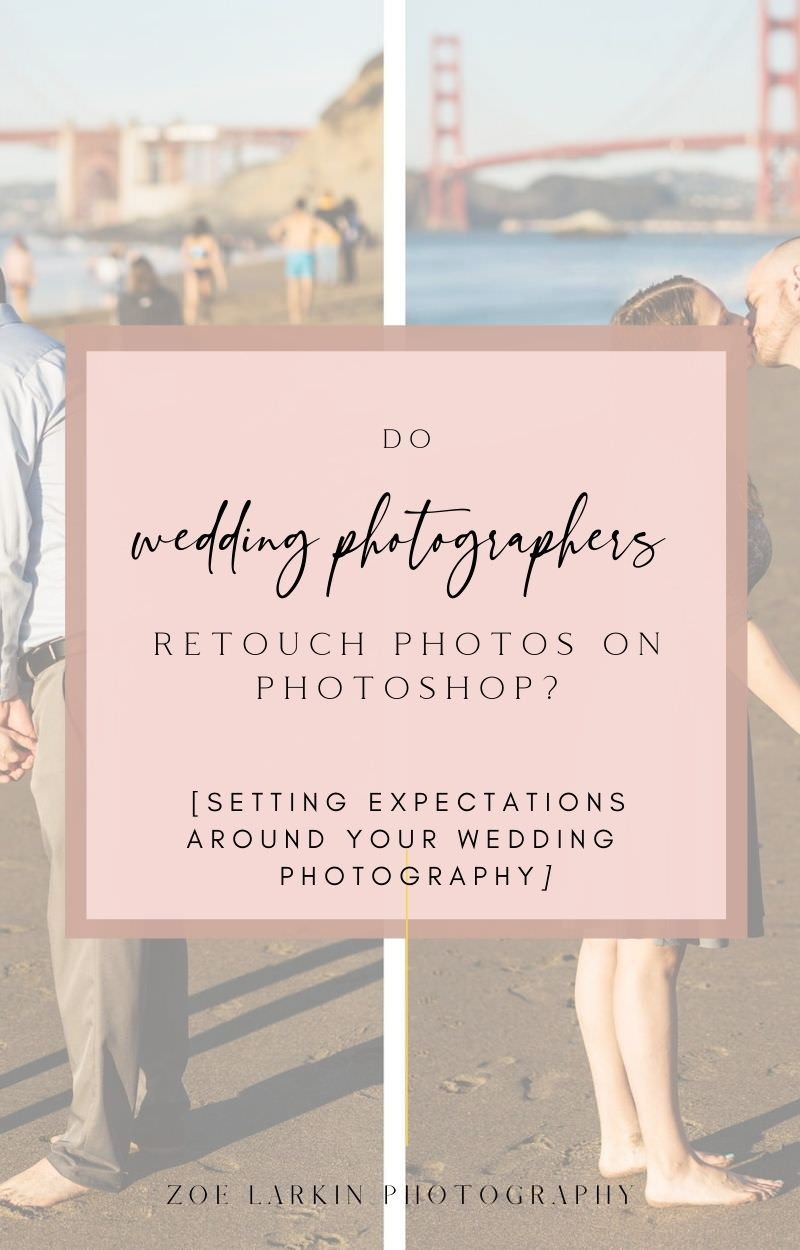 In this VERY in-depth blog post written by a working wedding photographer, I'll cover what retouching is, whether retouching is included in your wedding photography package, what happens when you ask your wedding photographer for photos to be Photoshopped, any costs involved, and how to avoid the need to photo retouching for your wedding. Some Photoshop work is usually required, but at the photographer's discretion. Understand what YOUR photographer's policies are before you book!