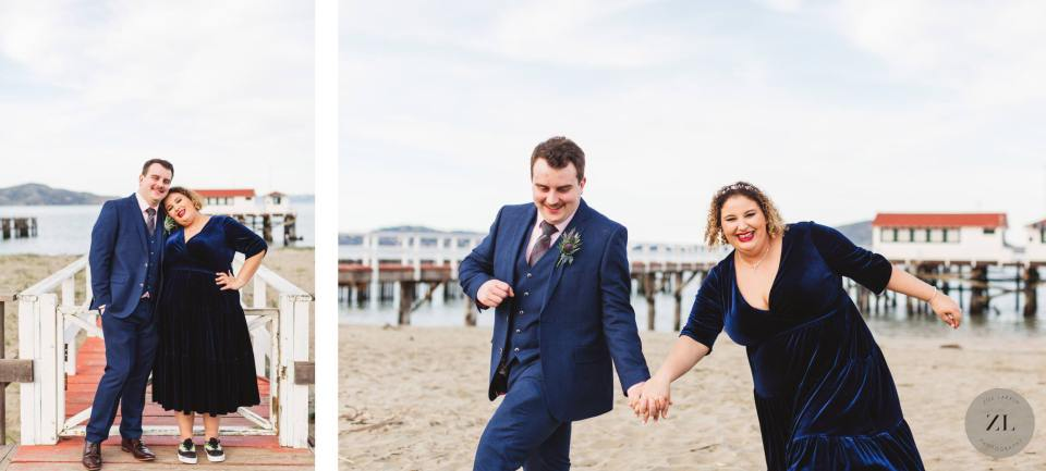 wedding photos at Crissy Field by best San Francisco wedding photographer, Zoe Larkin Photography