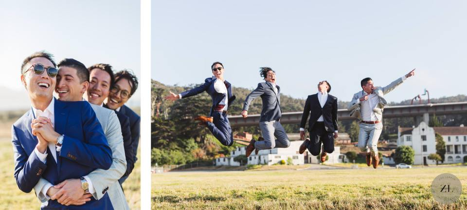 fun portrait photography at San Francisco's Crissy Field, a stunning location overlooking the Golden Gate Bridge