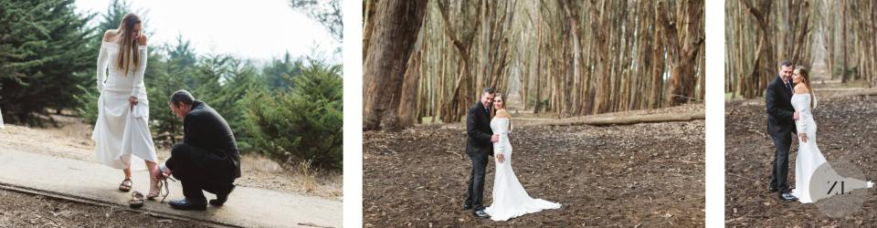 A wedding day photoshoot at Lovers' Lane by Zoe Larkin Photography