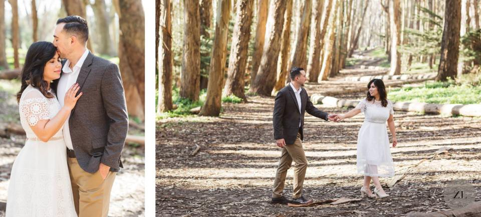 engagement photos at Lovers Lane by Zoe Larkin Photography