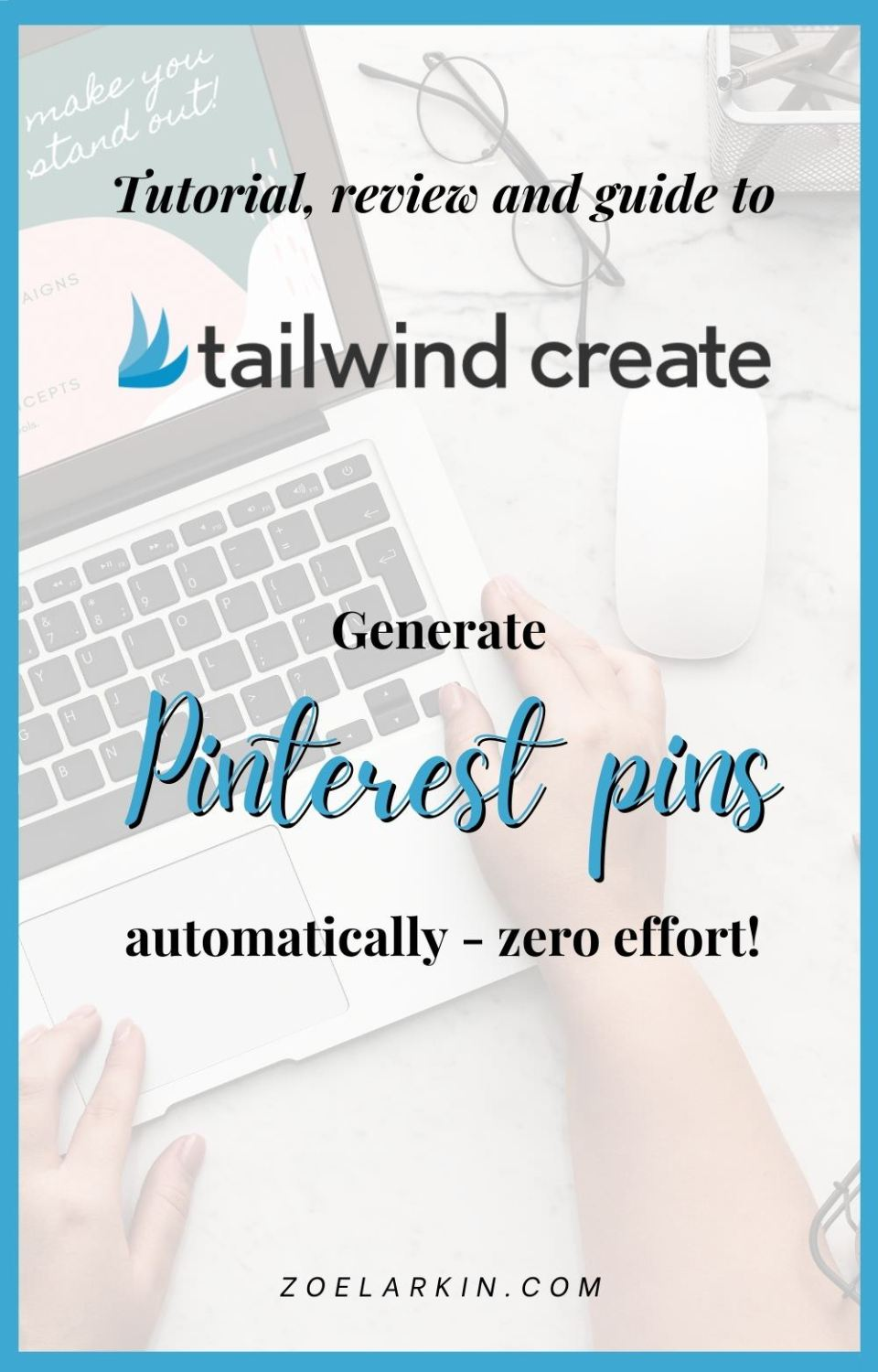 I was curious about Tailwind Create - Tailwind's latest add-on that uses the power of AI to make Pinterest pins automatically! So I tried it out and wrote this honest review as a blog post and video so you can get to see exactly how Tailwind Create works. So, what can this AI software do? How much does Tailwind Create cost and how do the finished pin designs look? I walk you through my pin creation process & show you how I use Tailwind Create for automated Pinterest pin design! #tailwindcreate