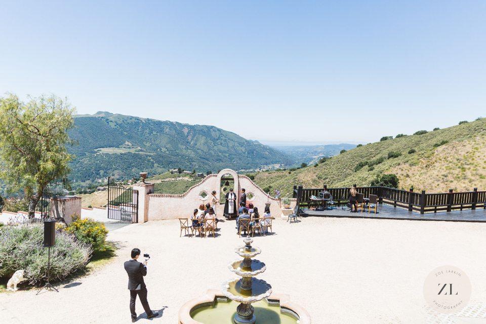 carmel valley micro wedding ideas with photography by Zoe Larkin Photography
