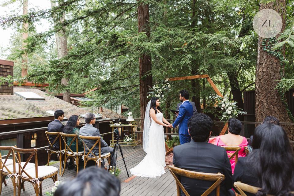 santa rosa indian micro wedding by Zoe Larkin Photography