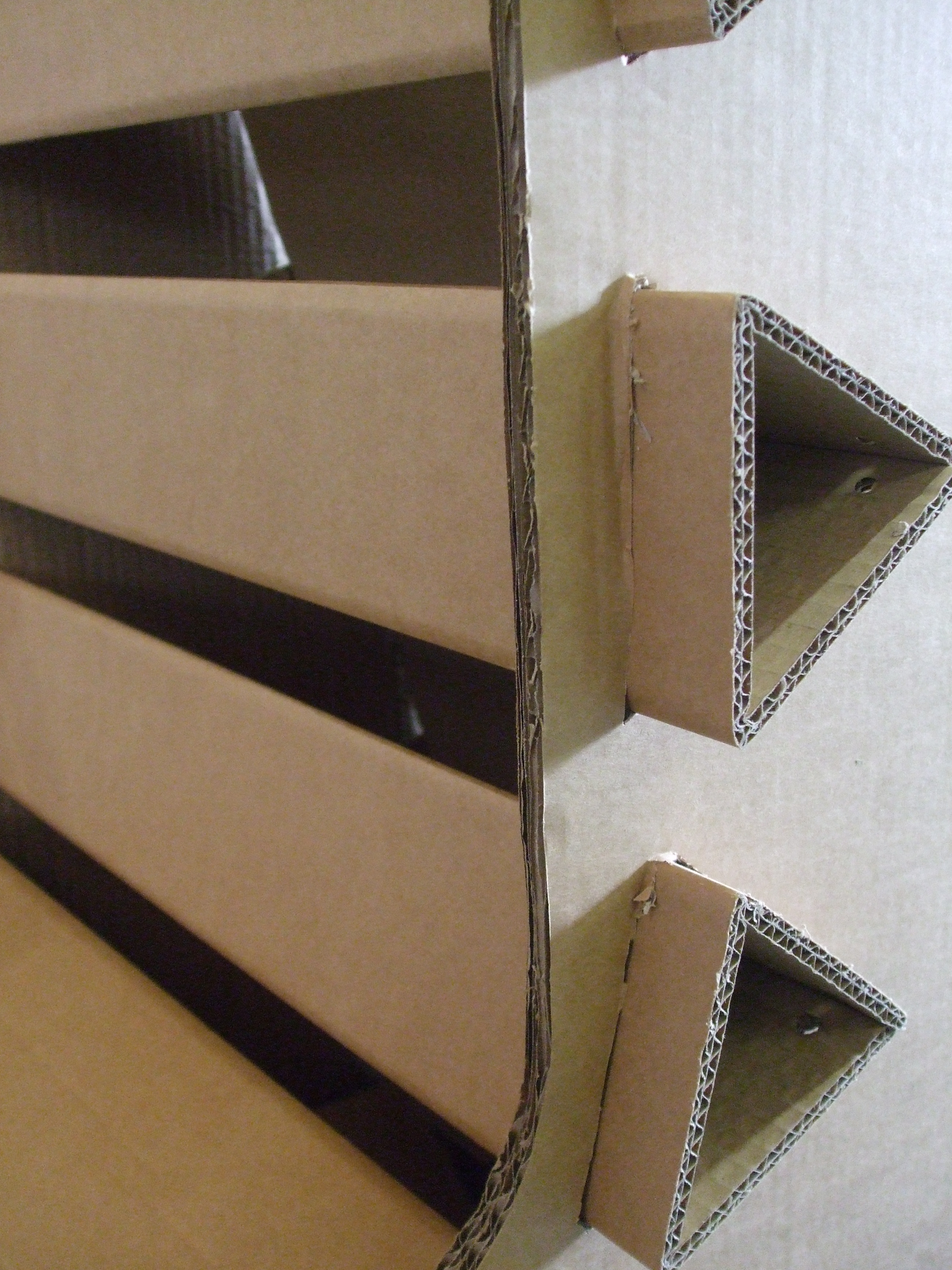 Cardboard Chair  zoemartinez3