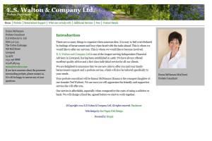 E.S. Walton & Company Ltd., Probate Department